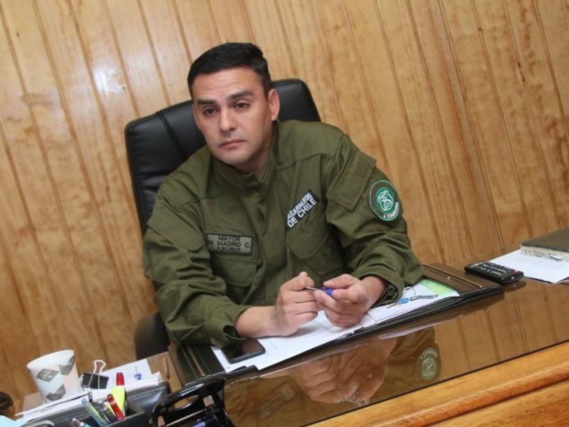 Mayor de Carabineros, Miguel Madrid