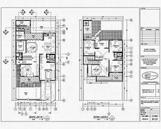 desain rumah minimalis 2 lantai 9 x 13