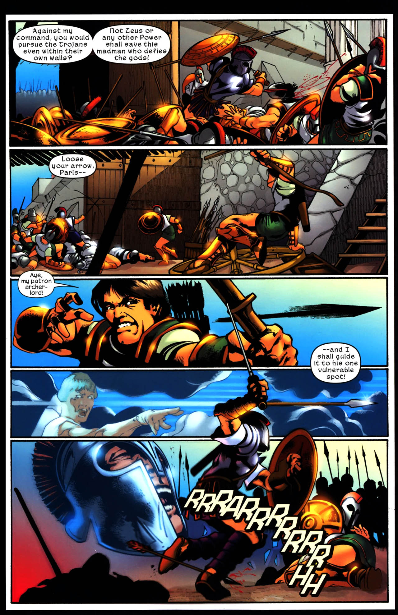 Read online Trojan War comic -  Issue #3 - 20