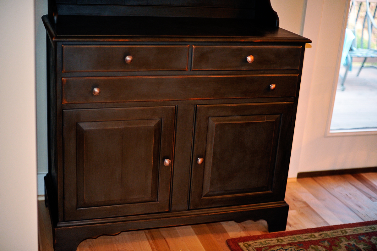 Need A Latte Mom Painted Maple Cabinet With Annie Sloan