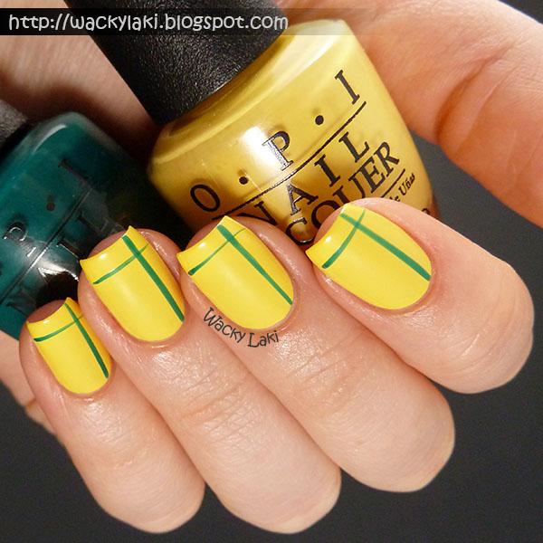 wacky laki opi brazil nail art