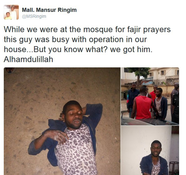 """Family comes back from mosque to meet """"unwanted guest"""" at their house"""