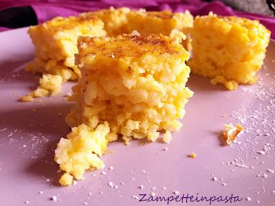 Budini di riso senza pasta frolla