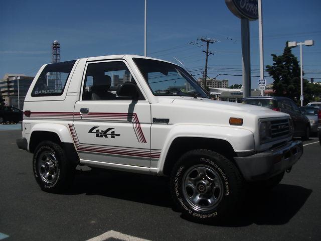 Just A Car Geek: 1991 Daihatsu Rocky