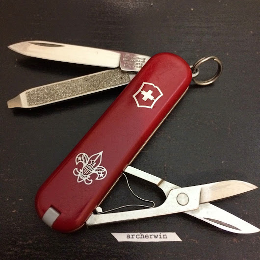 PRINTS: Victorinox Classic Scout
