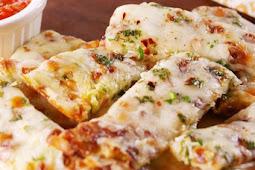 Healthy Zucchini Cheesy Bread