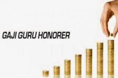 Tunjangan Guru Honorer Jadi Rp 1,5 Juta Per Bulan