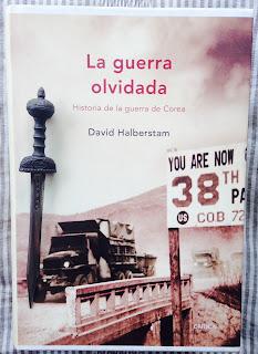 Portada del libro La guerra olvidada, de David Halberstam