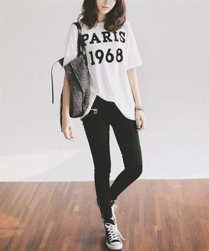 Gaya Fashion Wanita Korea Style Casual