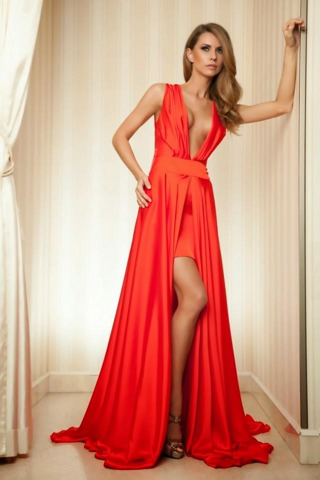 Maravillosos vestidos de noche Moda Otoo Invierno Vestidos