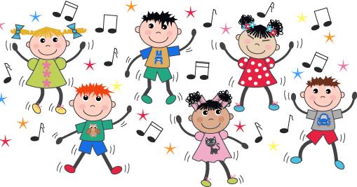 Para Imprimir Imágenes De Niños Bailando