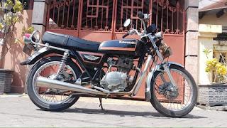 Jual Motor Jadul Kawazaki kz 20