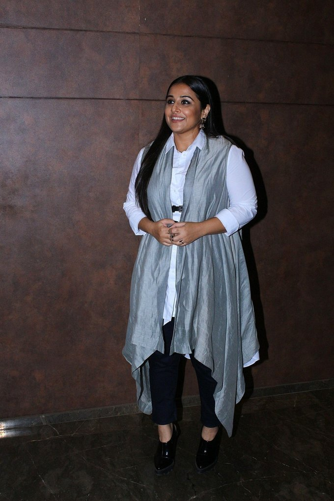 Vidya Balan at Special Screening Of Film Shubh Mangal Savdhan Photos Gallery