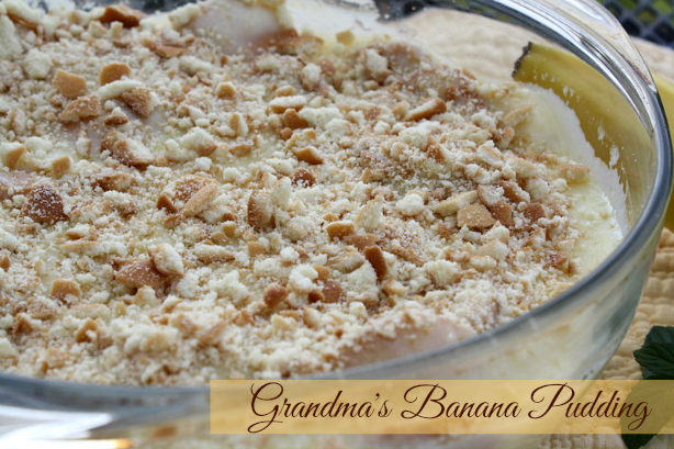 Grandma's Banana Pudding