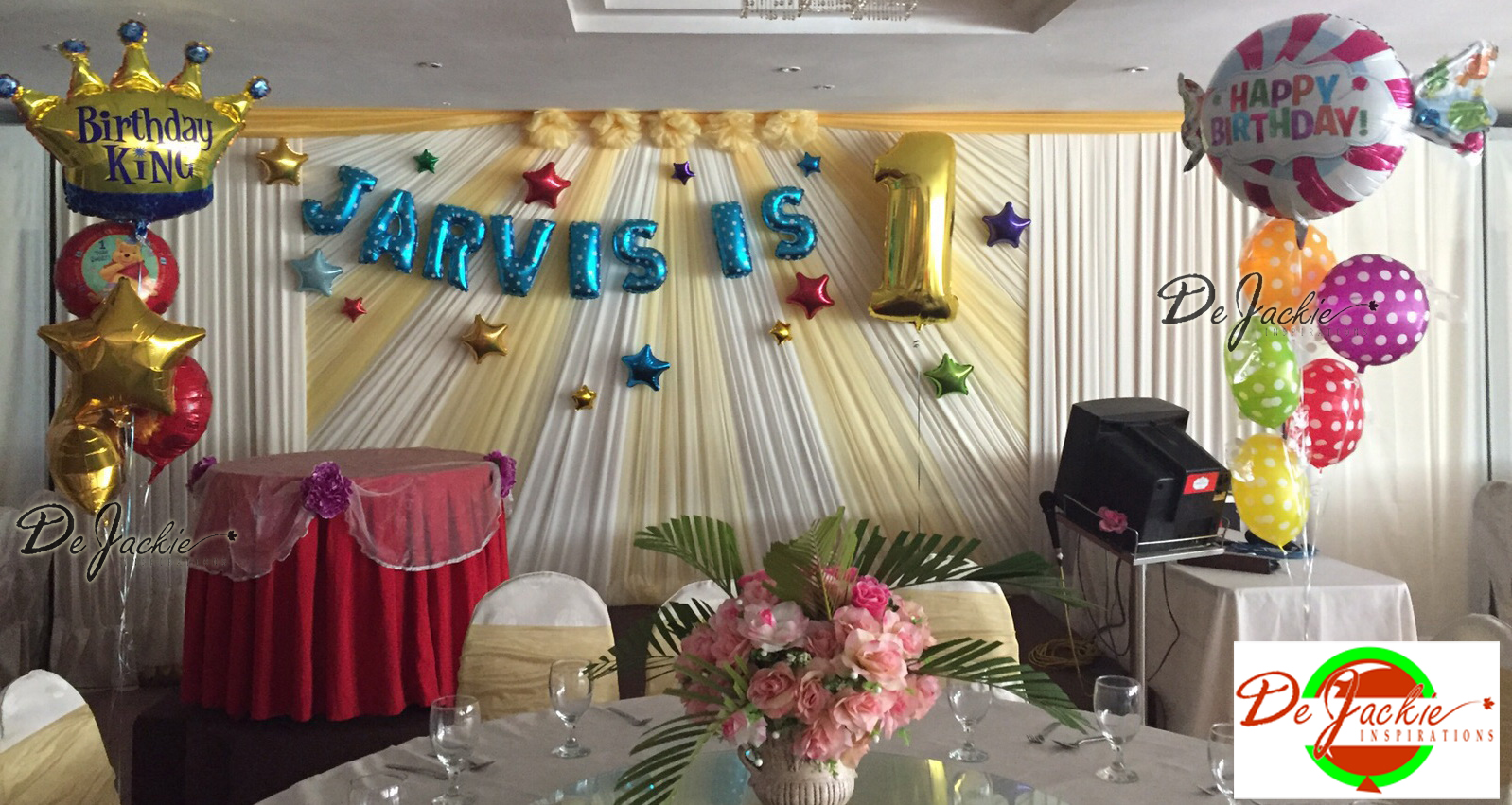 birthday - Kaalia Events |First Birthday Stage Decoration Ideas