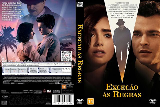 Capa DVD Exceção ás Regras [Exclusiva]