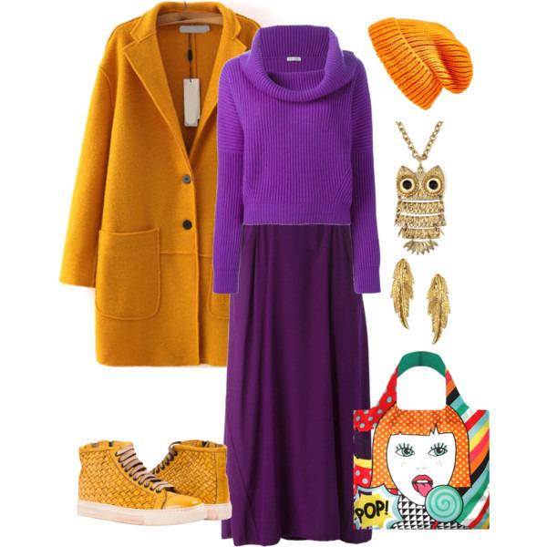 Пальто оверсайз желтое