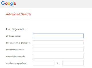 Mengambil Gambar Gratis Buat Postingan Blog Lewat Google Advanced Search