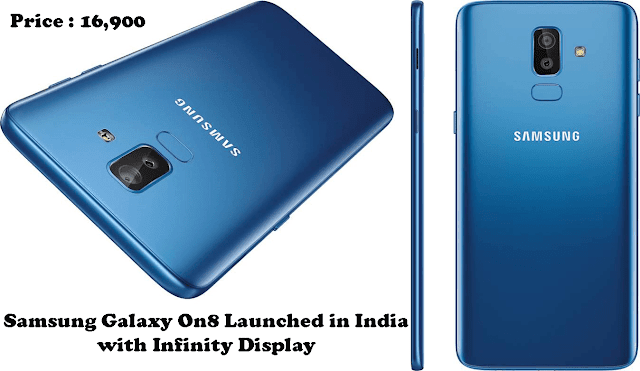 samsung galaxy on8 review in Hindi 2018  । Samsung Galaxy On8 Launched in India with Infinity Display