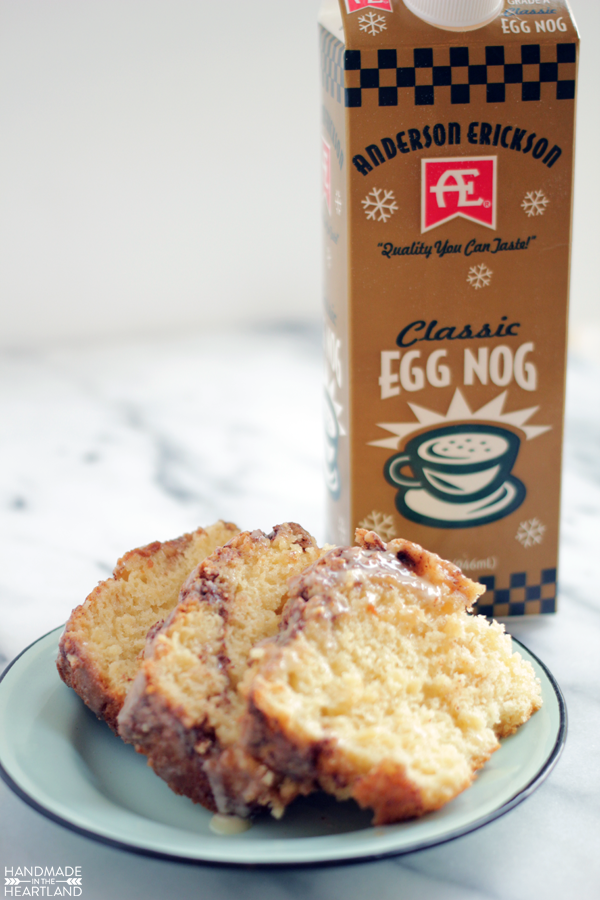 Recipe for egg nog cinnamon bread