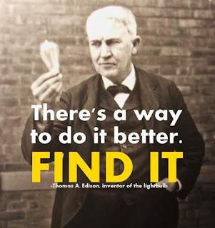 quotes on innovation - Thomas Alva Edison