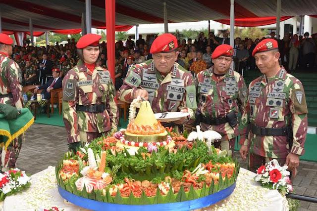 Panglima TNI : Kopassus Itu Ibarat Angin