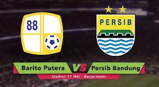 Susunan Pemain Barito Putera vs Persib Bandung