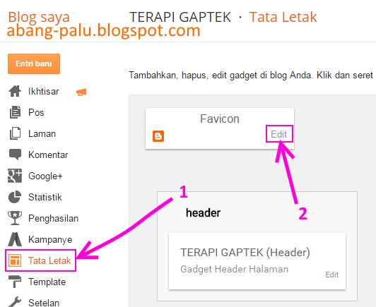 cara mengganti logo blog dengan logo sendiri