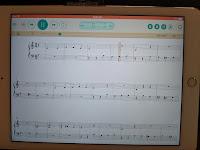 iPad piano learning and play-along app
