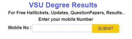vikrama simhapuri university Degree Results