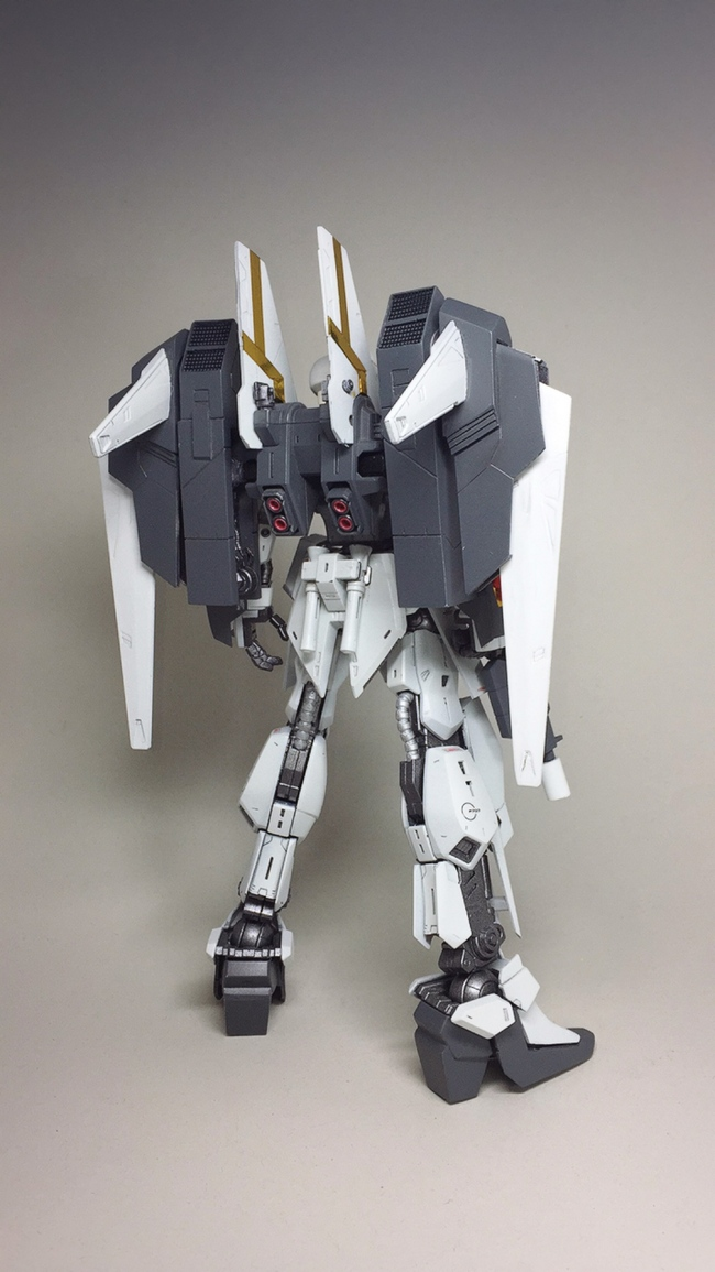 Custom Build: MG 1/100 Luna Gazer Gundam