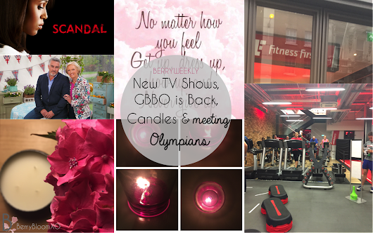 New TV Shows, GBBO is Back, Candles + Meeting Olympians | BERRYWEEKLY