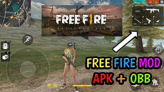 Download Free Fire MOD Apk + OBB Terbaru