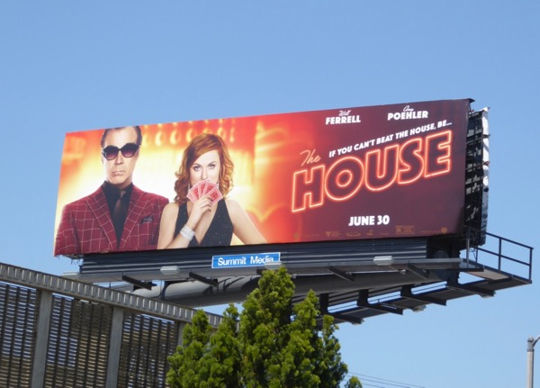 House movie billboard