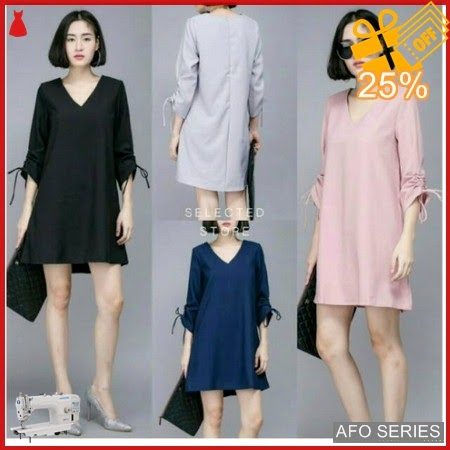 AFO148 Model Fashion Dres Elvita Modis Murah BMGShop