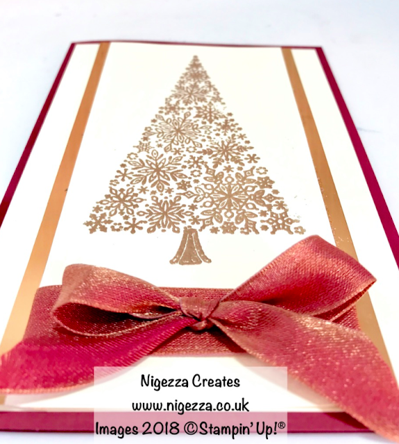 Snow is Glistening Christmas Card #6 Nigezza Creates