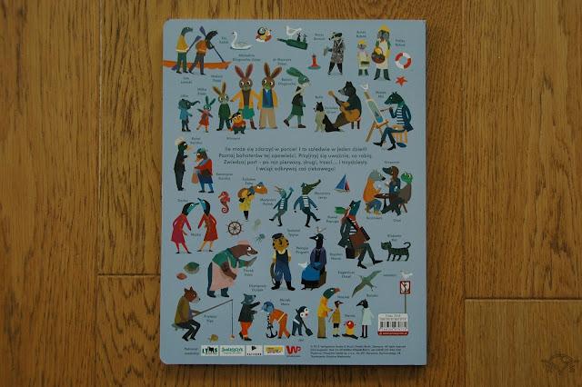 kartonowa książka dla dzieci książka o pracy w porcie 24 godziny co sie dzieję w porcie,