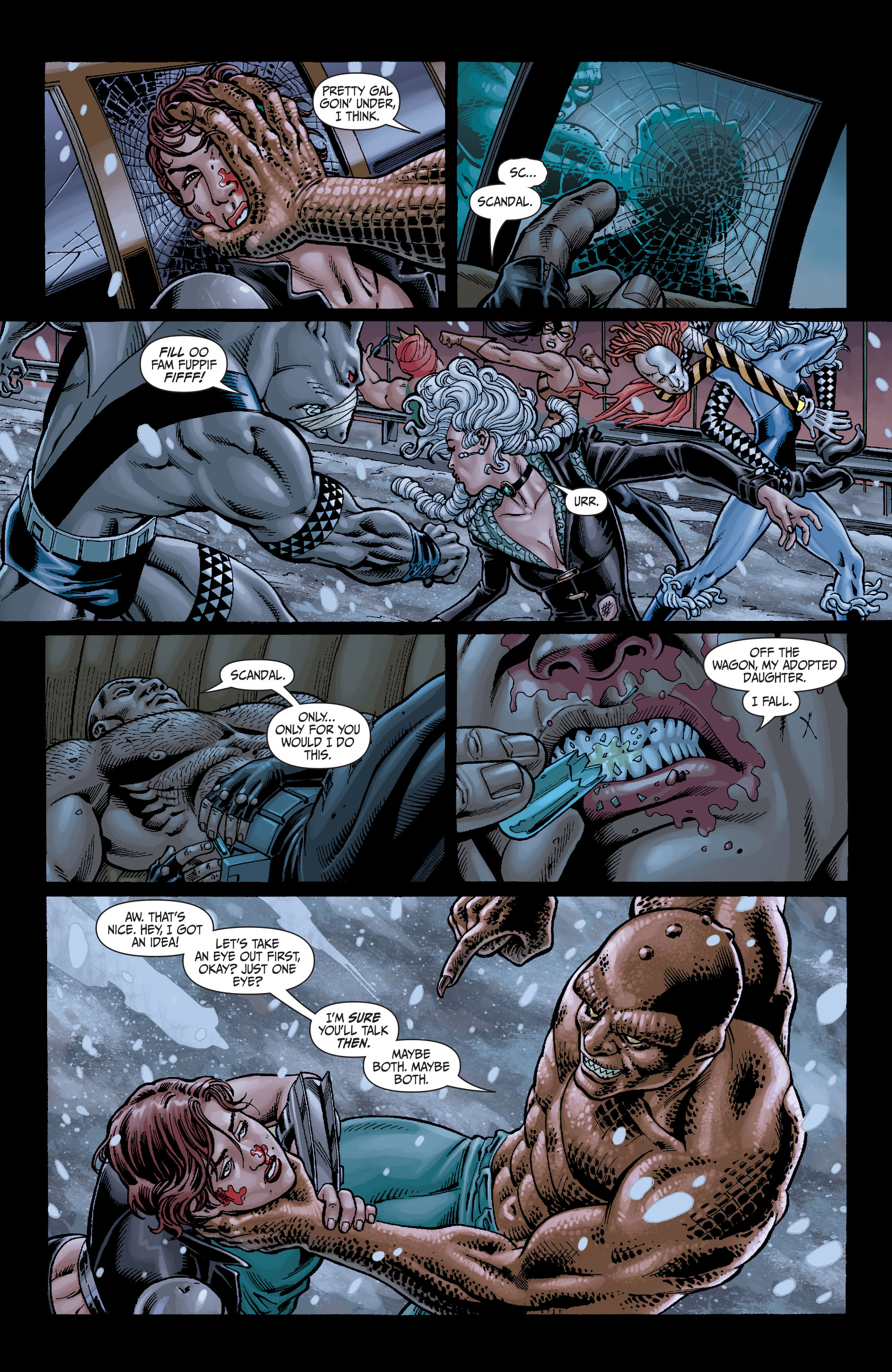 Read online Secret Six (2008) comic -  Issue #7 - 14
