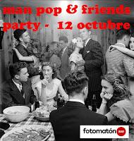 Man Pop & Friends en Fotomatón