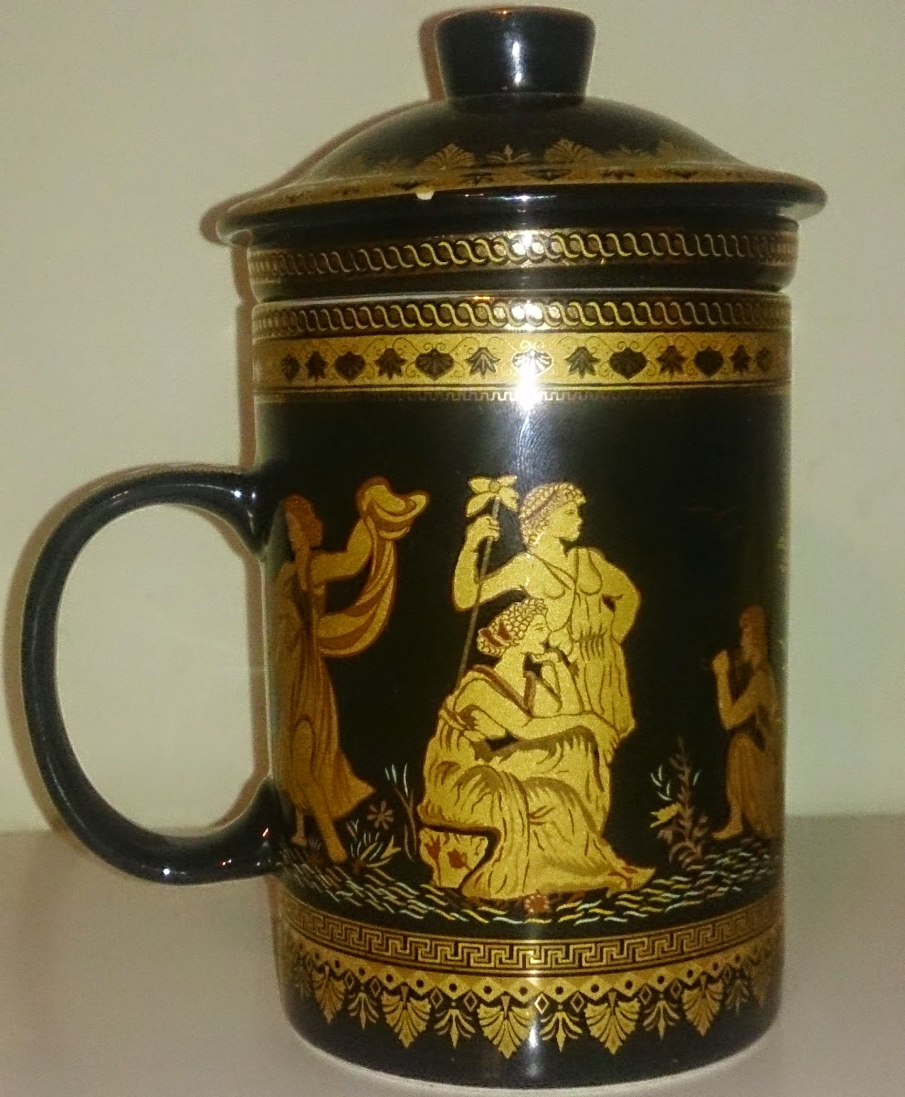 Grecian Tea Mug from Hong Kong