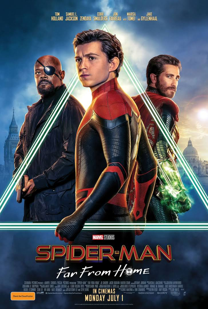 Spider-Man: Far from Home (2019) Full English Movie 720p HC-CAMRip 950MB