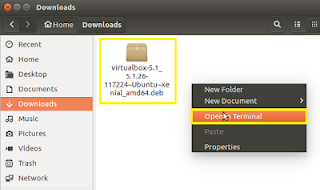 Cara install virtualbox di linux