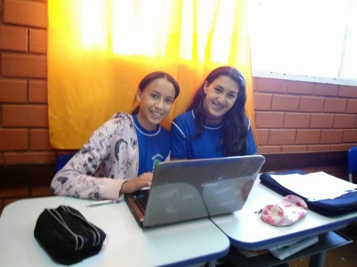 Alunas da Escola Estadual Guaicuru, de Anaurilândia-MS