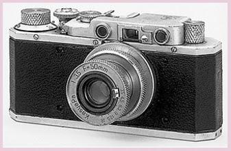 """Pada tahun 1934 pertama kalinya Jepang memproduksi kamera focal-plane-shutter 35mm bernama """"KWANON""""."""