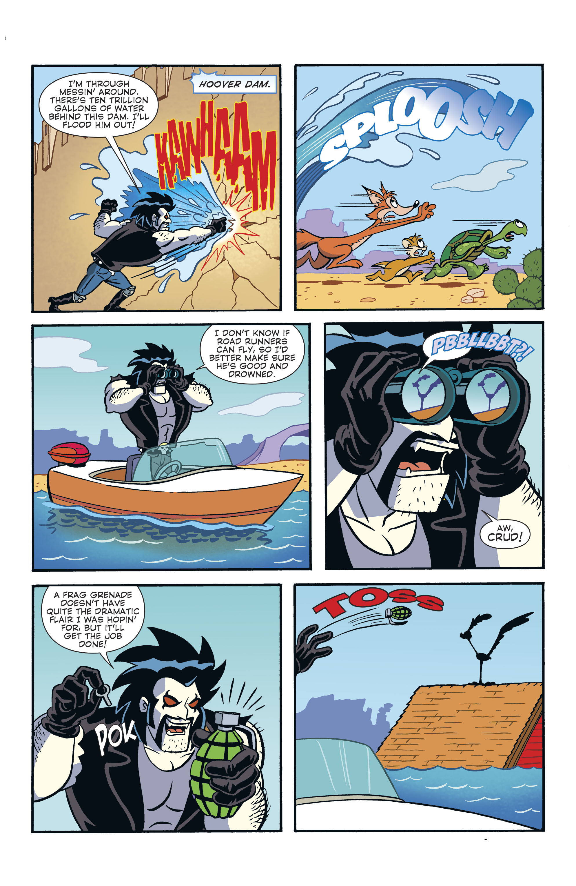 Read online Lobo/Road Runner Special comic -  Issue # Full - 38
