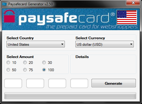 Paysafecard 30 Euro Limit