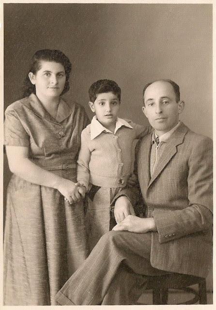 יהודה קנטור בחיק הוריו המאמצים