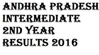 Andhra Pradesh Inter 2nd year Results 2016