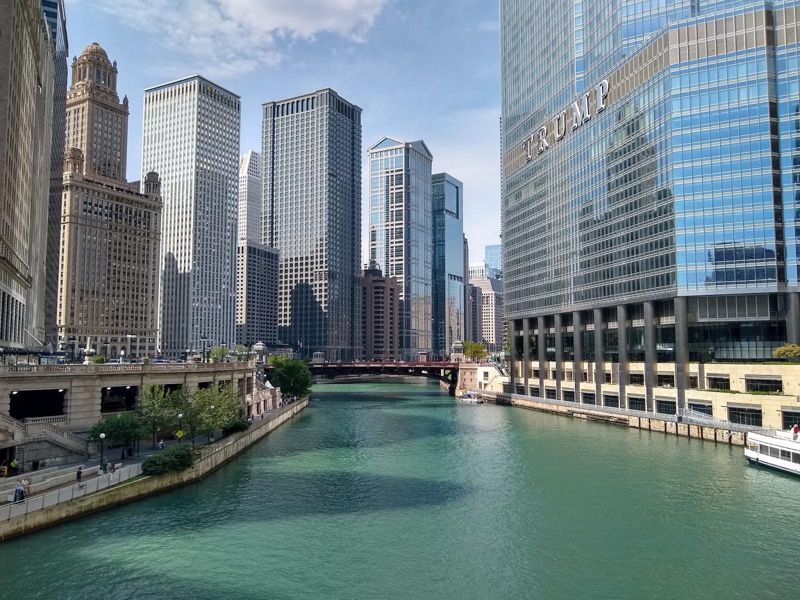 Обои небоскребы, мичиган, chicago, чикаго, иллиноис. Города foto 7