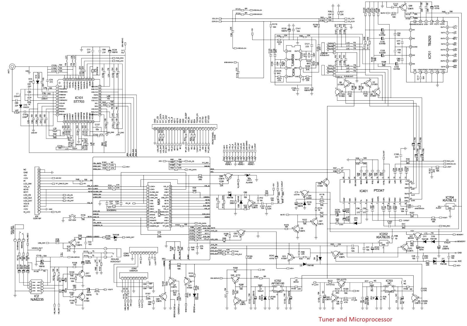 Electro Help Philco Pca 530 Auto Radio Schematic Diagram
